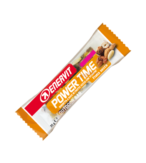 Enervit Power Time Bar Frukt/Nötter 30g