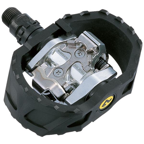 Pedal PDM-424 SPD, MTB resin svart