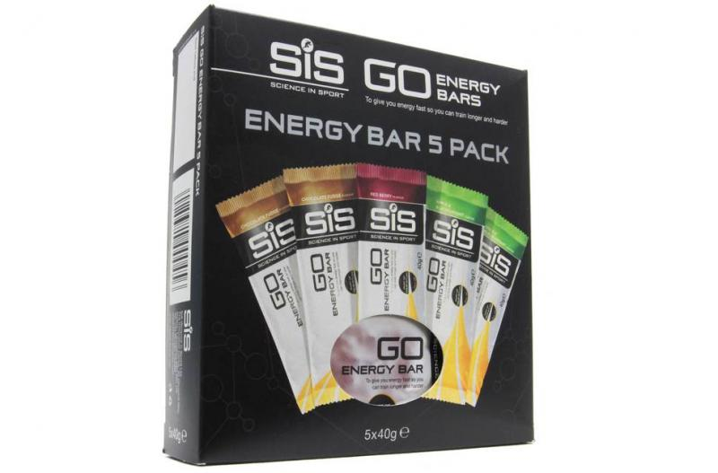 SIS Energy Bars 5x40g 5 pack