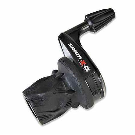 Växelreg. SRAM X-0 Trigger 3v fram Röd, 00.7015.159.040