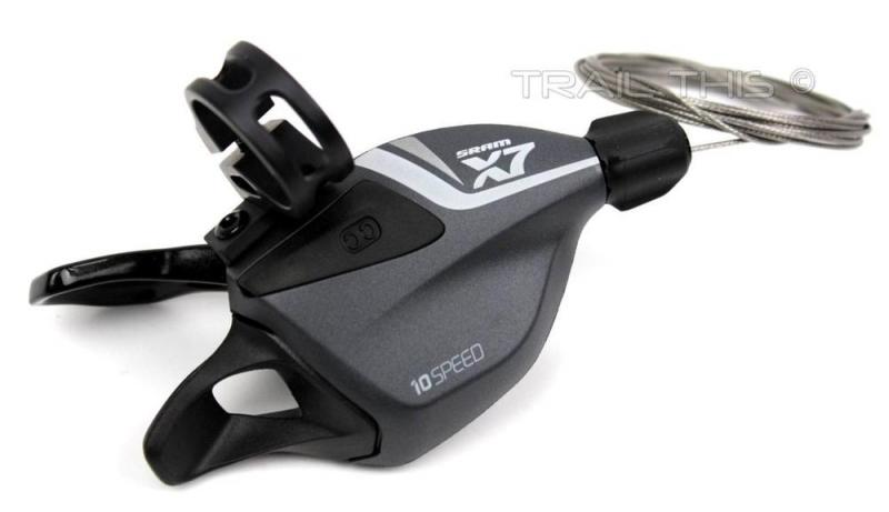 Växelreg. SRAM X-7 Trigger 10v bak Grå, 00.7015.162.020