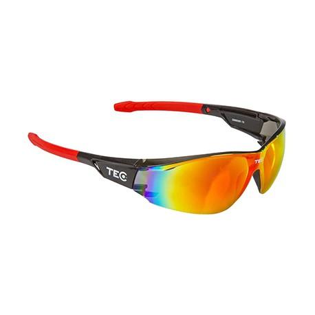 Glasögon TEC Arma Svart/Röd