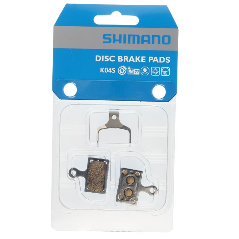 Skivbromsbelägg Shimano K04S Metall