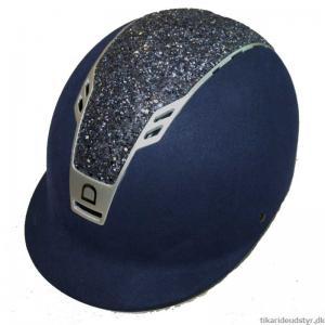 "Ridhjälm Priority Helmet Suede/Glitter ""Equipage"""