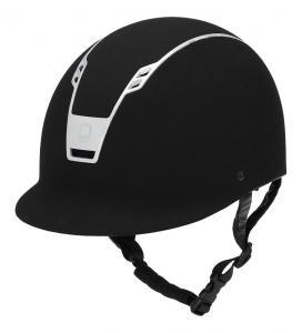 """Ridhjälm Priority Helmet Suede """"Equipage"""""""