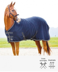 "Fleecetäcke Alfi ""Horse Guard"""