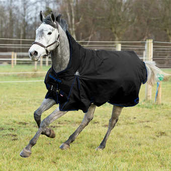 fodrat regntäcke häst