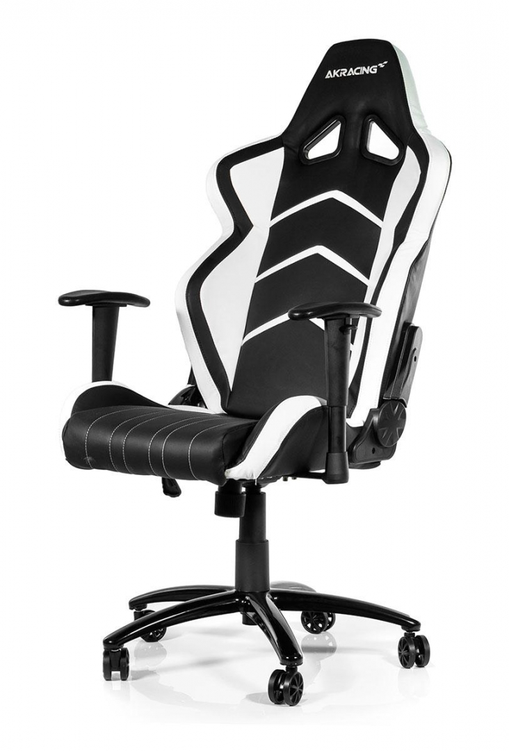 Outstanding Akracing Player Gaming Chair Black White Machost Co Dining Chair Design Ideas Machostcouk