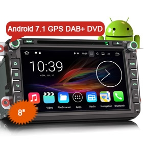 vw golf 6 car dvd erisin es4745v 8 android 7 1 gps. Black Bedroom Furniture Sets. Home Design Ideas