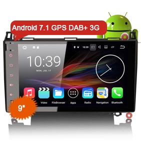"""9"""" Android 7.1.2 Nougat OS Car GPS DAB+ for BENZ A/B Class NO DVD Function"""