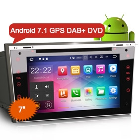 "7"" Android 7.1 OS Car Stereo GPS DVD DAB+ for OPEL VAUXHALL HOLDEN"