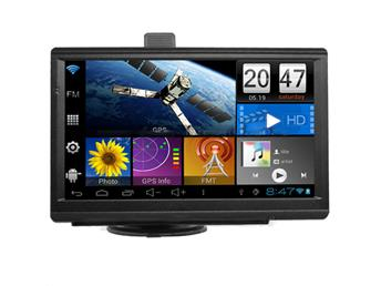 7 INCH GPS MOTTAGARE TFT touch screen, 800X480 RGB O/S:Win CE.Net 6.0 Core RAM: 128 MB DDR
