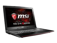 "MSI GP62MVR 15.6"" i7-6700HQ 8GB 128/1TB GTX 1060"