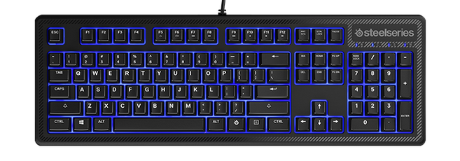 SteelSeries Apex 100 Gaming Keyboard Nordic Layout, 64436