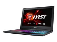"MSI GS60 15.6"" i7-6700HQ 8GB 256GB GTX965M W10"