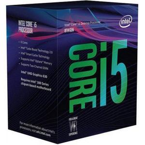 Intel Core i5 8600K 3.6 GHz, 9MB, Socket 1151 (no cooler incl.)