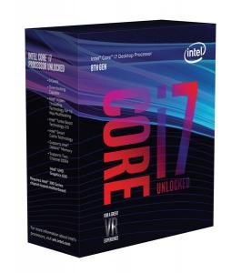 Intel Core i7 8700K 3.7 GHz, 12MB, Socket 1151 (no cooler incl.)