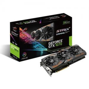 ASUS GeForce GTX 1070 8GB GDDR5 DVI, HDMI, 3xDisplayPort STRIX Fan OC