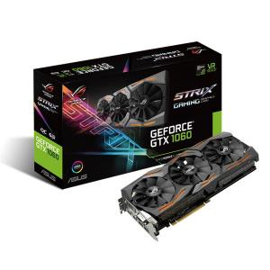 ASUS GeForce GTX 1060 6GB GDDR5 DVI, HDMI, 3xDisplayPort STRIX Fan OC