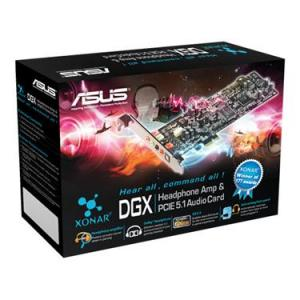 ASUS Soundcard Xonar DGX PCI-E 5.1 Channel SPDIF-Out Line in/Mic in Aux-In LP-Bracket