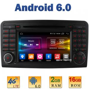 """7"""" Android 6.0 Car Radio DVD CD Player GPS for Benz W164 X164"""