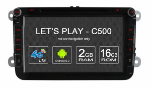 Android 6.0 Quad Core Car GPS Navigation System for VW Polo Passat