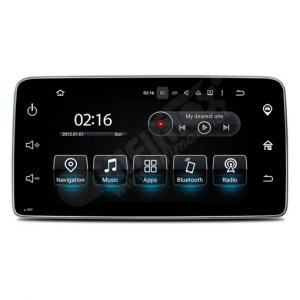 9 inch Android 5.1 Quad Core 16G Car GPS DVD Navi System for Mercedes Benz Smart (2015.10-)