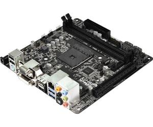 ASRock AM1H-ITX* mITX, DC-in el. ATX power