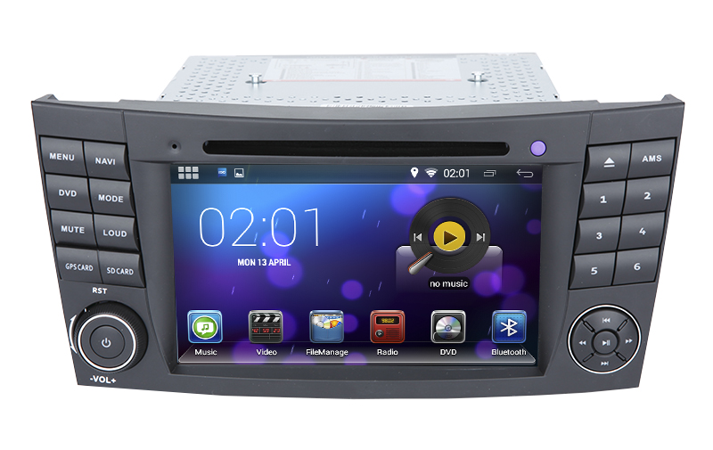 7 inch android navigation gps dvd player for mercedes benz. Black Bedroom Furniture Sets. Home Design Ideas