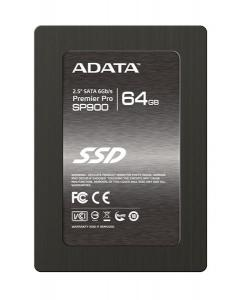 "64GB ADATA SATA3 2.5"", MLC, SP900, Premier Pro-series, SF-2281, 550/505 MB/s"