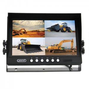 9 inch quad view monitor with DC12V-24V