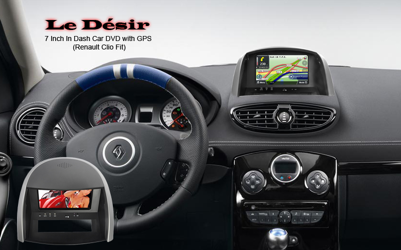 renault clio dvd gps multimedia. Black Bedroom Furniture Sets. Home Design Ideas