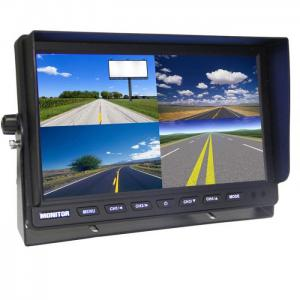 9 inch Lcd Car Quad Monitor with DC12V-24V