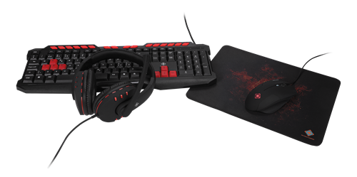 DELTACO GAMING 4-in-1 Gaming Gear Kit 3d1cfc6d0c657
