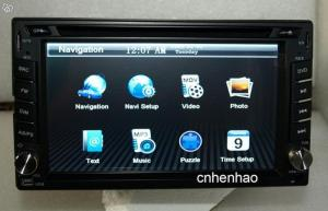 "6,3"" 2-DIN Digital S-DVD7803GD Universell Bil-DVD / GPS"
