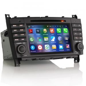"""7"""" Android 5.1 Car DVD GPS Player DAB+ for BENZ C/CLC/CLK Class"""