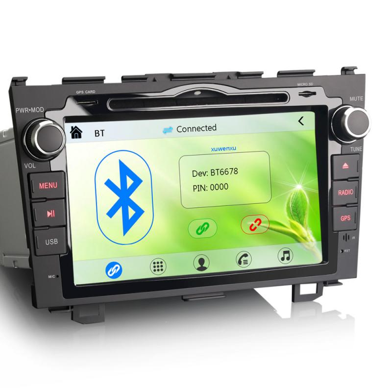"Erisin ES7659M 8"" Car DVD GPS System 3G Radio VMCD for Honda CR-V"