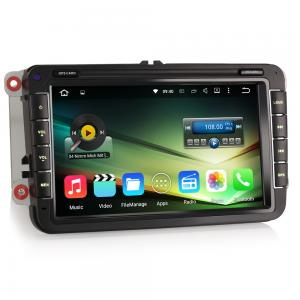 "8"" Android 5.1 Quad Core Bil GPS NAV DAB+ For VW Golf Tiguan Jetta Seat"