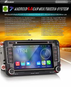 """7"""" Android 6.0 Octa Core Bil GPS Sat DVD Radio DAB+ for VW"""