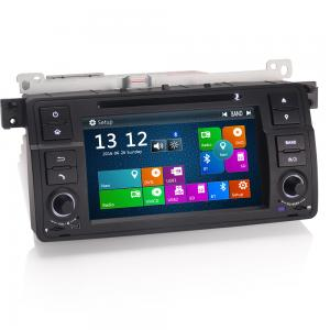 "7"" Bil-DVD GPS 3G Bluetooth för BMW E46"