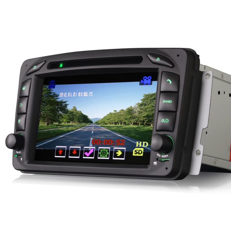 "7"" MTK Car DVD GPS Player for BENZ"