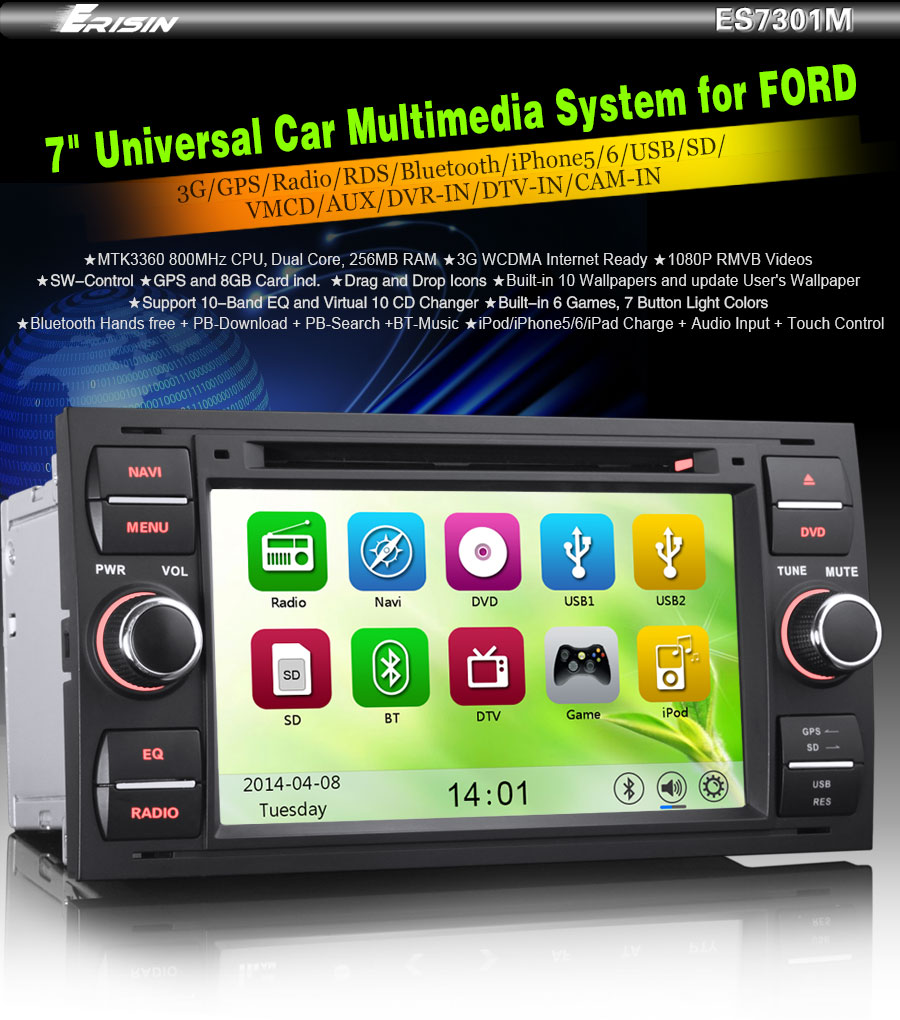 ford fusion usb ipod
