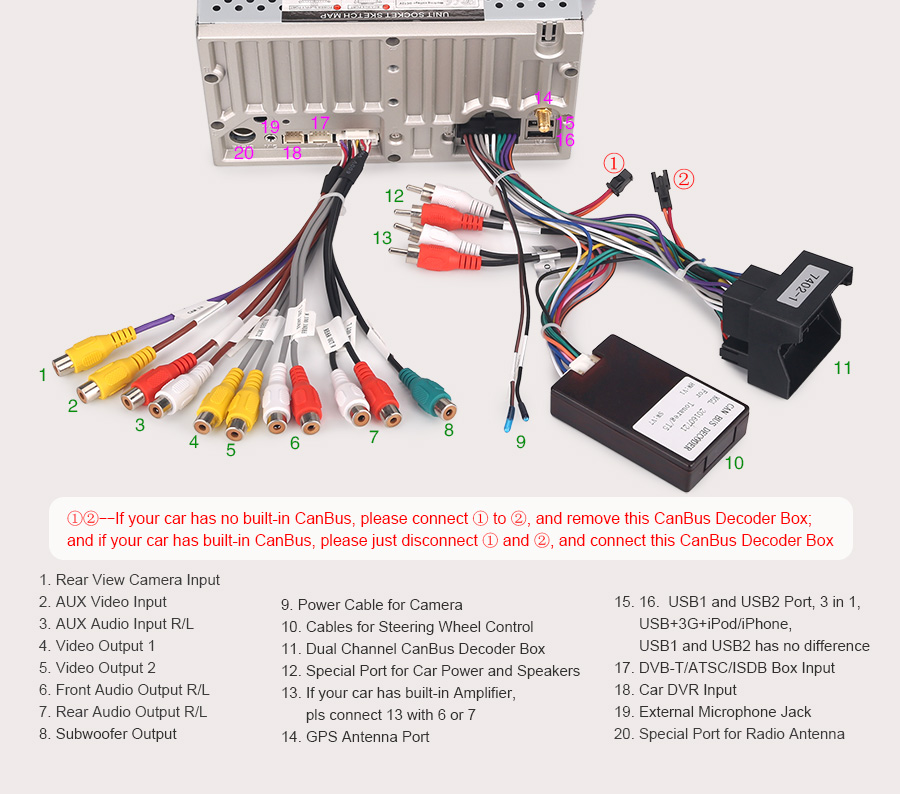 can bus connectors wiring diagram bil dvd gps navi for vw touareg multivan transporter vw can bus decoder wiring diagram