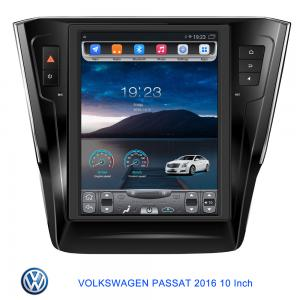 Tesla Vertical Screen Car Navigation Device For Volkswagen Passat 2016 Support GPS Audio Radio Video Bluetooth MP3 MP4 Player