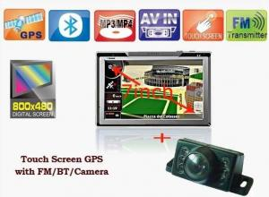 "GPS med 7"" Touch Screen + Backkamera+Bluetooth+FM-Transmitter"