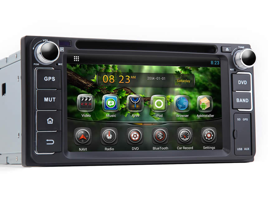 Toyota Android 4 2 Dual-Core Multimedia Car DVD GPS
