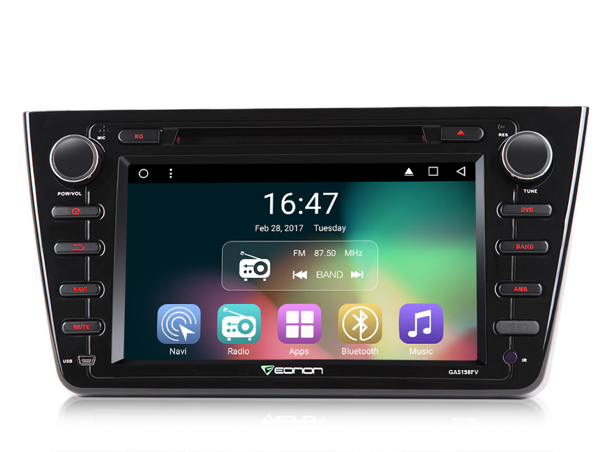 Android 6 0 car navigation DVD Player for New Mazda 6