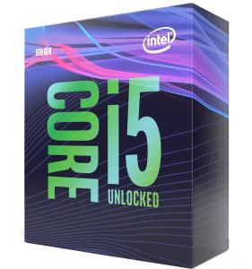 Intel Core i5 9600K 3.7 GHz,9MB, Socket 1151 (no cooler incl.)