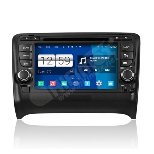7 inch Android DVD Navigation GPS Player for Audi TT / TTS