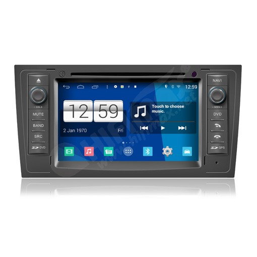 7 Android Navigation Dvd Gps For Audi A6 1998 2006 S6 Rs6 1999 2004